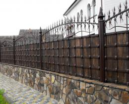 Кованые заборы в Воронеже №62