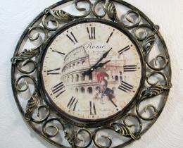 Кованые часы в Воронеже №45