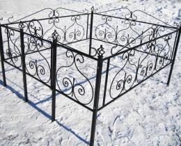 Кованые ограды в Воронеже №100