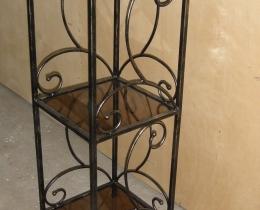 Кованые этажерки, стеллажи, консоли №147
