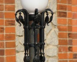Кованые люстры, фонари, светильники, подсвечники №85
