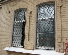 Кованые оконные решетки в Воронеже №112