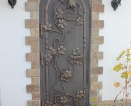 Кованые ворота в Воронеже №74