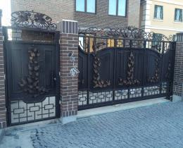 Кованые ворота в Воронеже №75