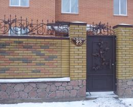 Кованые ворота в Воронеже №76