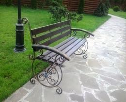 Кованые скамейки в Воронеже №153