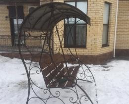 Кованые качели в Воронеже №122