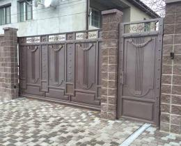 Кованые ворота в Воронеже №77