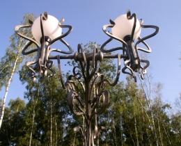 Кованые фонари в Воронеже №53