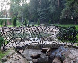 Кованый мостики в Воронеже №29