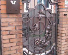 Кованые ворота в Воронеже №101