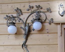 Кованые люстры, фонари, светильники, подсвечники №90