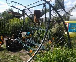 Кованые качели в Воронеже №128