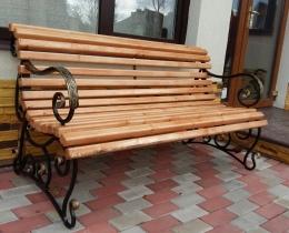 Кованые скамейки в Воронеже №155