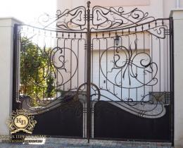Кованые ворота в Воронеже №112