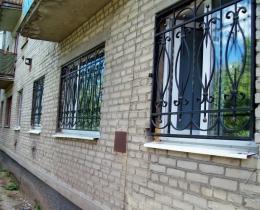 Кованые оконные решетки в Воронеже №115