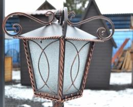 Кованые люстры, фонари, светильники, подсвечники №93