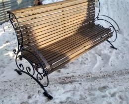 Кованые скамейки в Воронеже №156