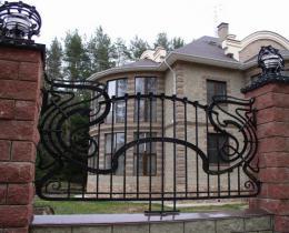 Кованые заборы в Воронеже №18