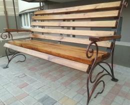 Кованые скамейки в Воронеже №157