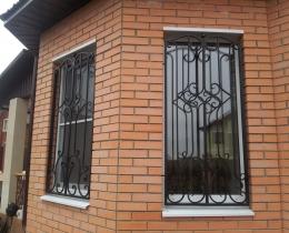 Кованые оконные решетки в Воронеже №117