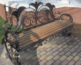 Кованые скамейки в Воронеже №158