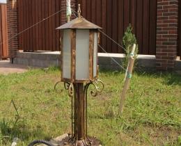 Кованые люстры, фонари, светильники, подсвечники №97