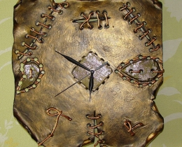 Кованые часы в Воронеже №46