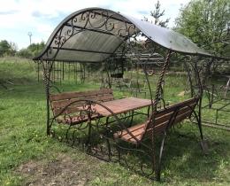 Кованые беседки в Воронеже №105