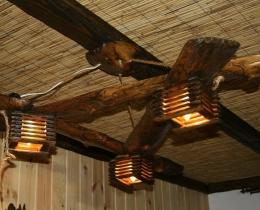 Кованые люстры, фонари, светильники, подсвечники №98