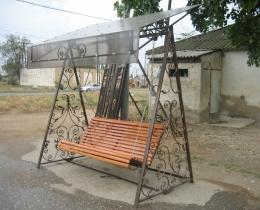 Кованые качели в Воронеже №141