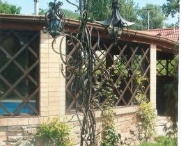 Кованые люстры, фонари, светильники, подсвечники №99