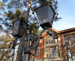 Кованые люстры, фонари, светильники, подсвечники №101