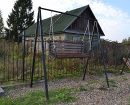Кованые качели в Воронеже №144