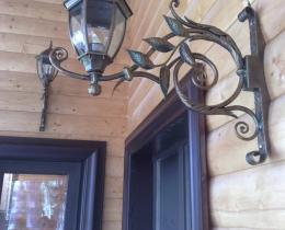 Кованые люстры, фонари, светильники, подсвечники №102