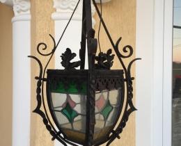 Кованые люстры, фонари, светильники, подсвечники №104