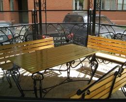 Кованые скамейки в Воронеже №161
