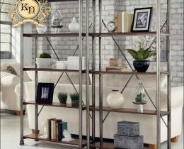 Кованые этажерки, стеллажи, консоли №52