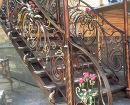 Кованые лестницы в Воронеже №60