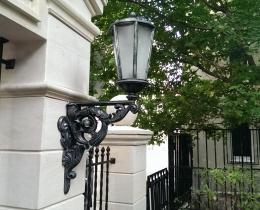 Кованые люстры, фонари, светильники, подсвечники №105