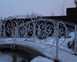 Кованый мостики в Воронеже №119