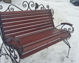 Кованые скамейки в Воронеже №162