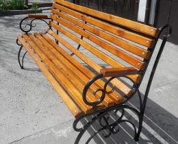 Кованые скамейки в Воронеже №163