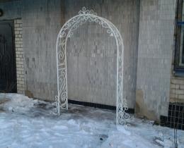 Кованые арки в Воронеже №131