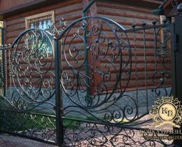 Кованые ворота в Воронеже №110