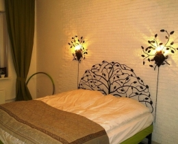 Кованые люстры, фонари, светильники, подсвечники №106