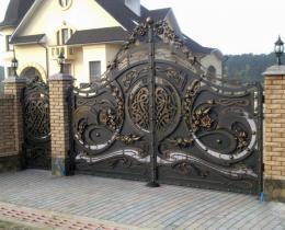 Кованые ворота в Воронеже №72