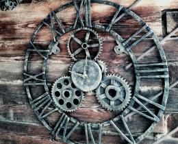 Кованые часы в Воронеже №49