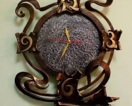Кованые часы в Воронеже №36
