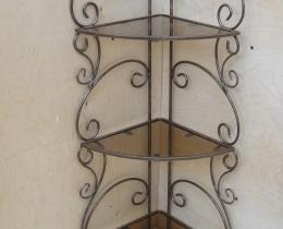 Кованые этажерки, стеллажи, консоли №130